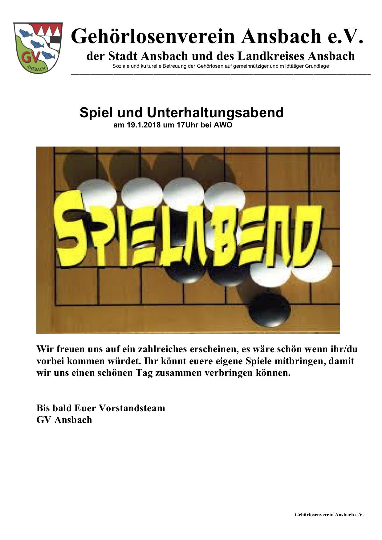 Gehorlosenverein Ansbach E V Herzlichen Willkommen