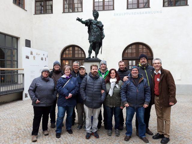 Stadtführung In Augsburg 09032019 Gehörlosenverein Ansbach Ev